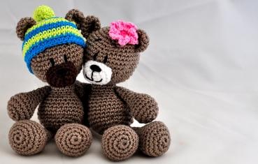 Amigurumi Crochet Patterns Teddy Bears : Crochet pattern english or german teddy in love