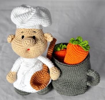 Kunterbunte h keltiere h kelanleitung diy koch for Koch auf englisch