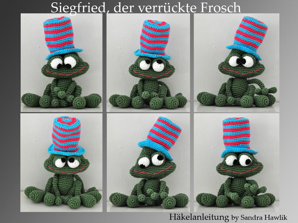 Kunterbunte h keltiere h kelanleitung diy frosch - Frosch englisch ...