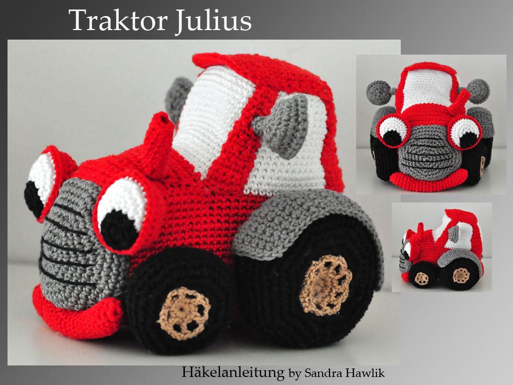 kunterbunte h keltiere h kelanleitung diy traktor. Black Bedroom Furniture Sets. Home Design Ideas