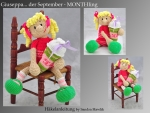 Häkelanleitung, DIY - Monthling September - GIUSEPPA - Ebook, PDF