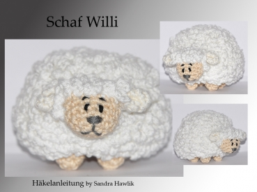 Häkelanleitung, DIY - Schaf Willi - Ebook, PDF