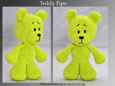 Häkelanleitung, DIY - Teddy Fips - Ebook, PDF