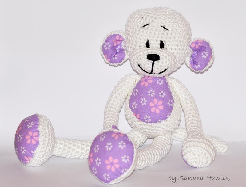 Naughty monkey amigurumi pattern | Crochet monkey pattern, Crochet ... | 610x800