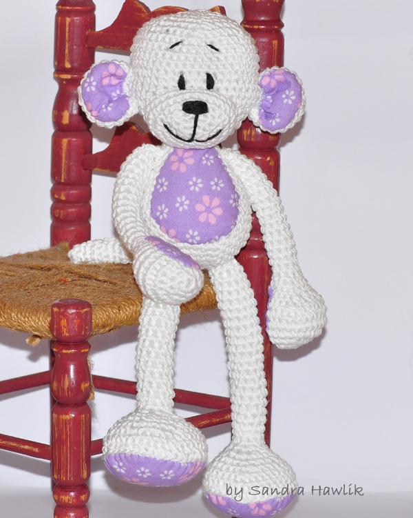 Amigurumi Häkelset, Monkey kit, Crochet Kit, DIY Häkelset, Crochet ... | 751x600