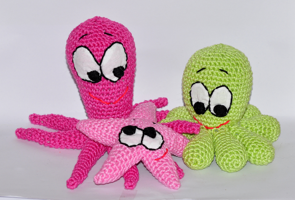 Amigurumi octopus | Free amigurumi and crochet patterns | lilleliis | 677x1000