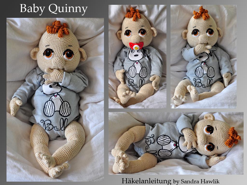 Kunterbunte Häkeltiere - - Häkelanleitung, DIY - Baby Quinny - Ebook ...