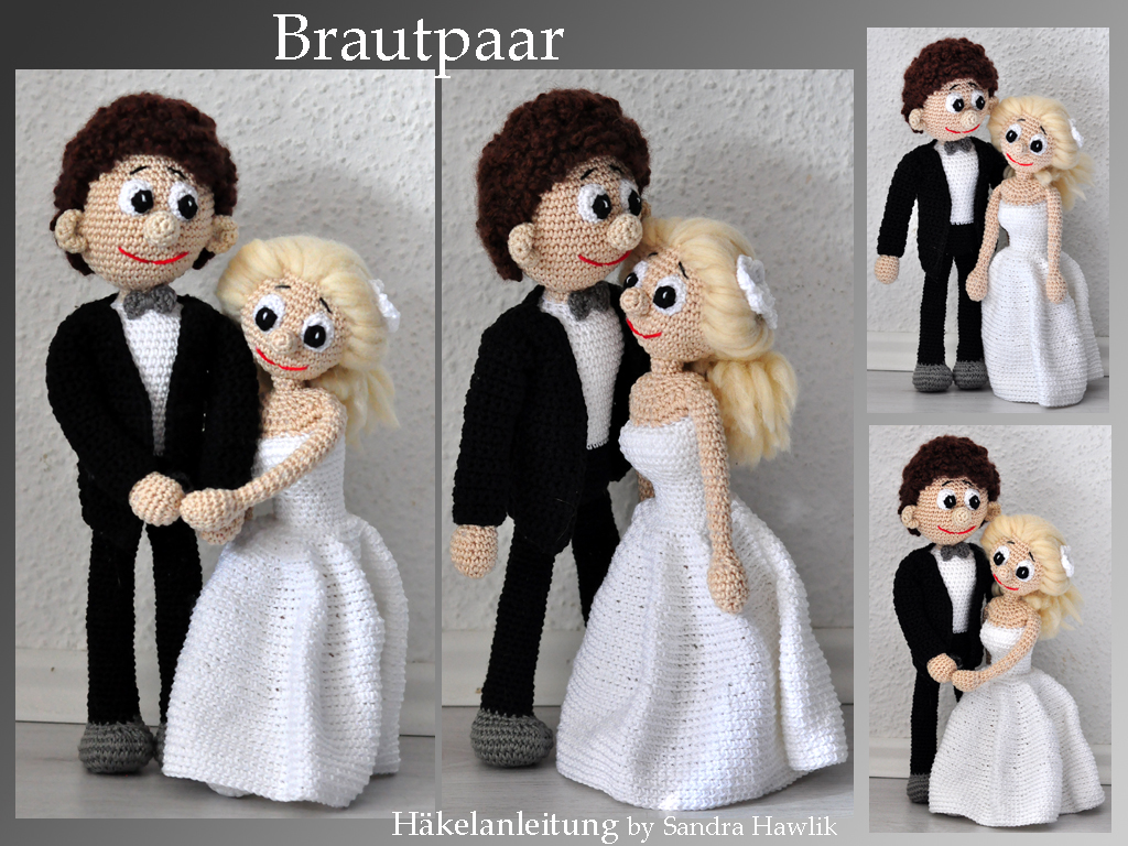Kunterbunte Häkeltiere Häkelanleitung Diy Brautpaar Ebook Pdf