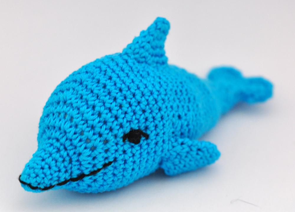Kunterbunte Häkeltiere Häkelanleitung Diy Delfin Ebook Pdf