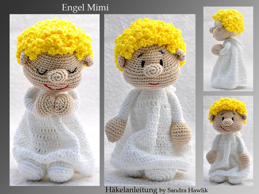 Crochet Pattern English Or German Angel Mimi