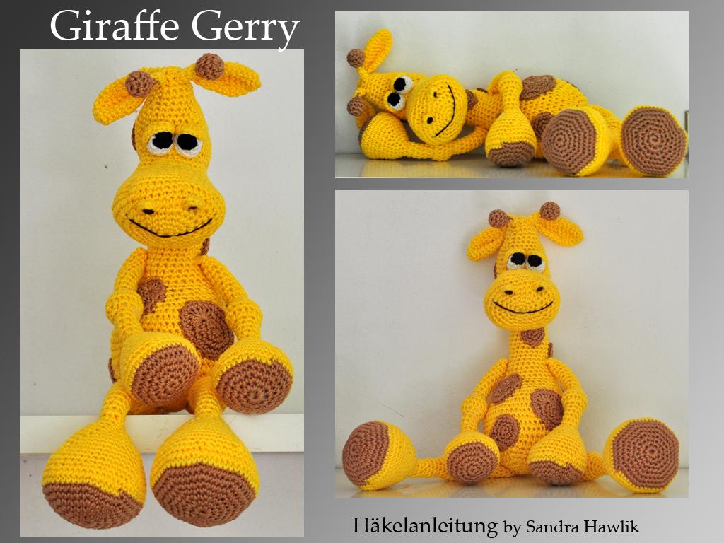 Hearty Giraffe amigurumi pattern | Giraffen, Tiere häkeln und ... | 768x1024