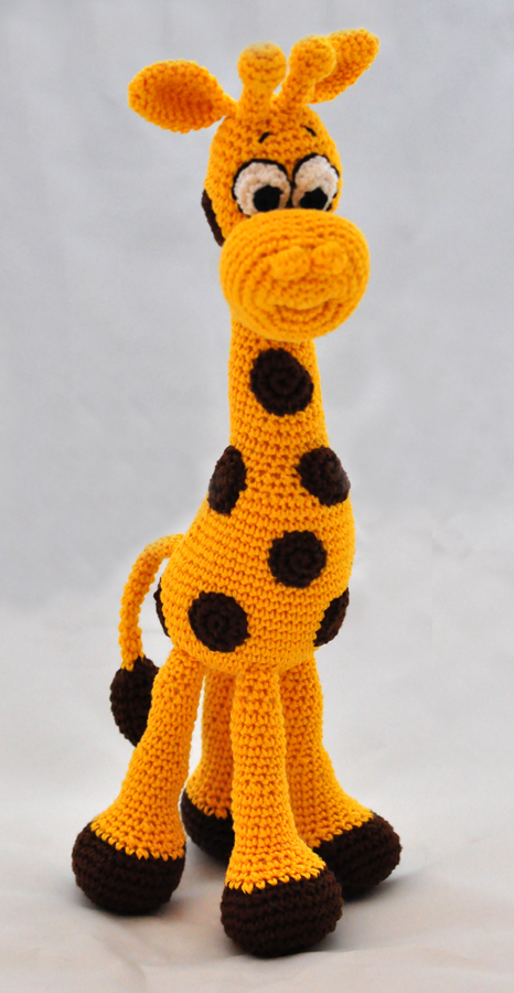 Amigurumi Giraffe Toy Free Crochet Patterns • DIY How To | 900x466