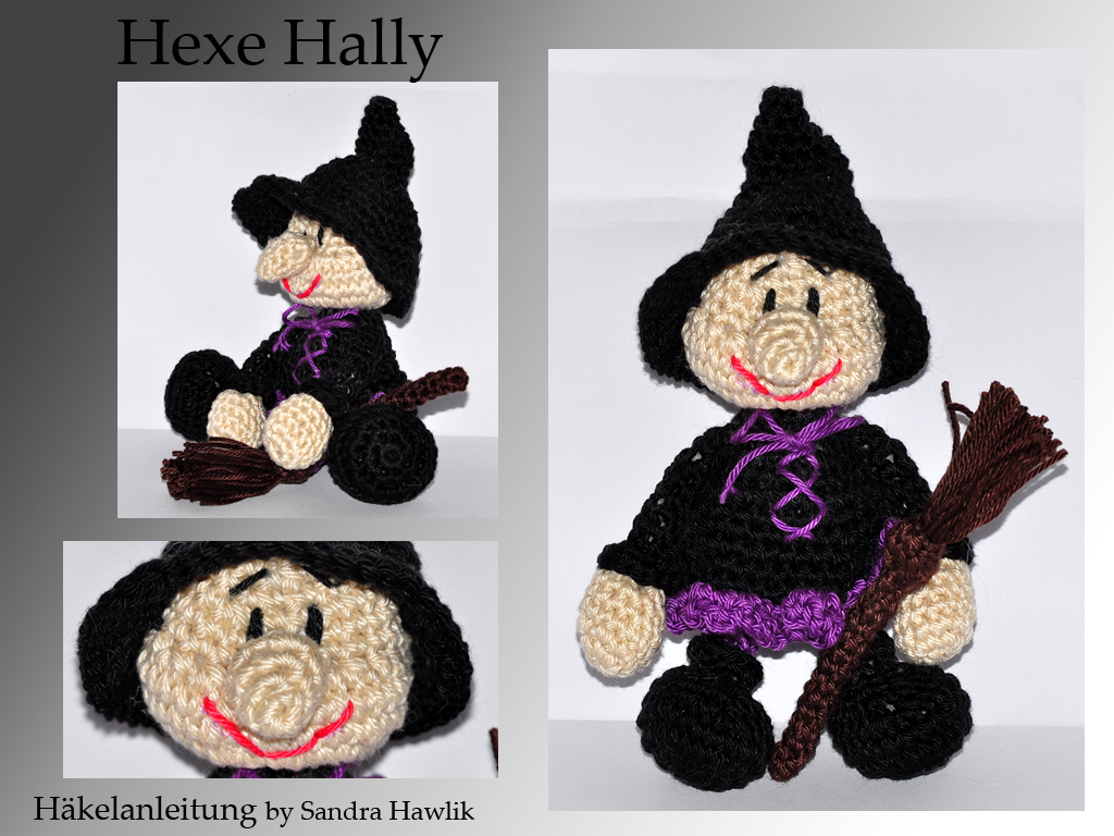 crochet pattern, amigurumi Witch and Cat | Crochet doll pattern ... | 768x1024