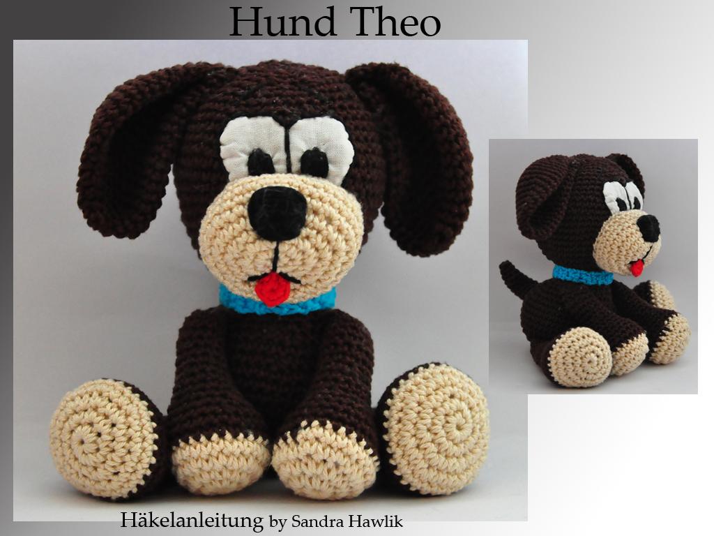 Kunterbunte Häkeltiere Häkelanleitung Diy Hund Theo Ebook