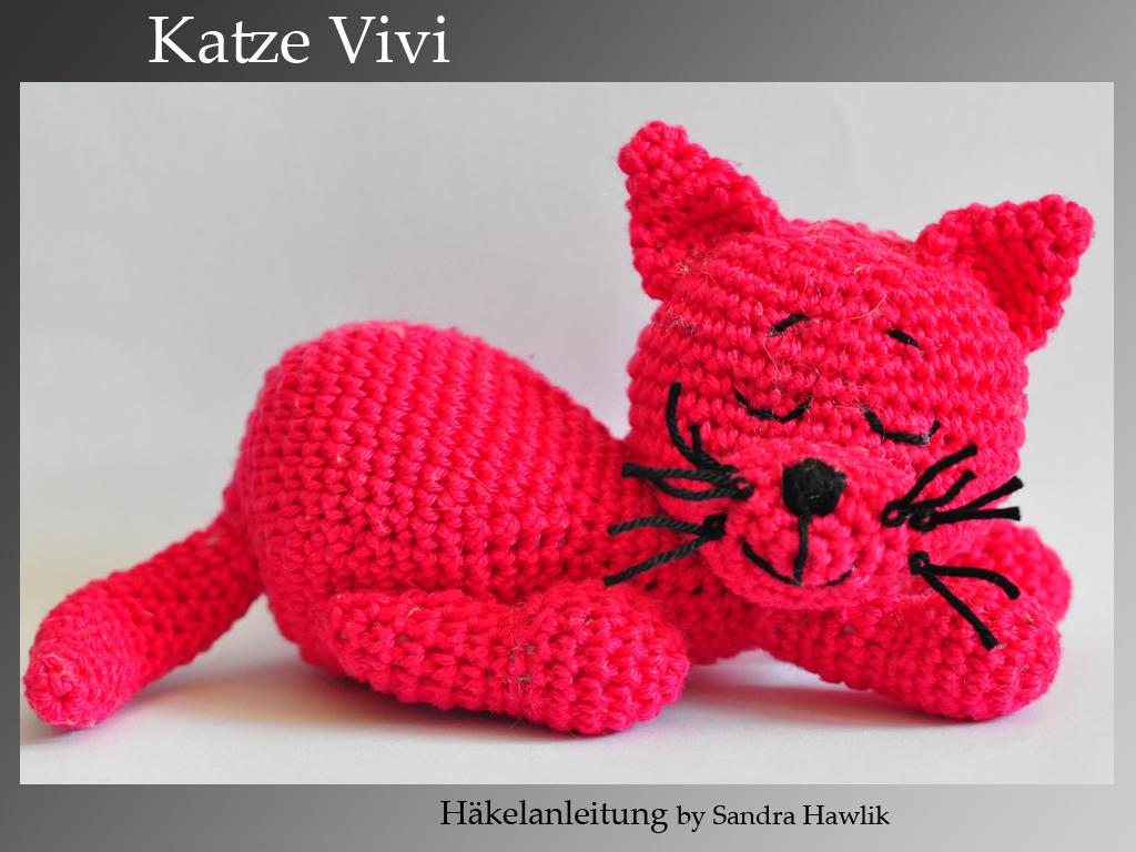 Kunterbunte Häkeltiere Häkelanleitung Diy Katze Vivi Ebook Pdf