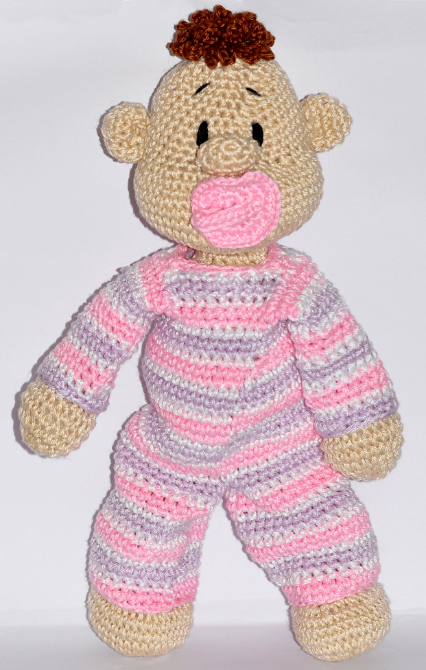 Amigurumi Lilly Doll with Bunny Hat Free Crochet Pattern in 2020 ... | 977x621