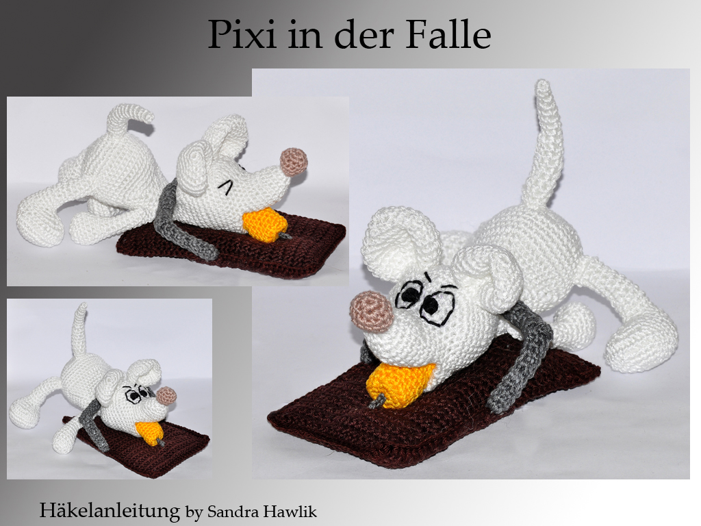 Crochet Pattern English Or German Pixi In The Mousetrap