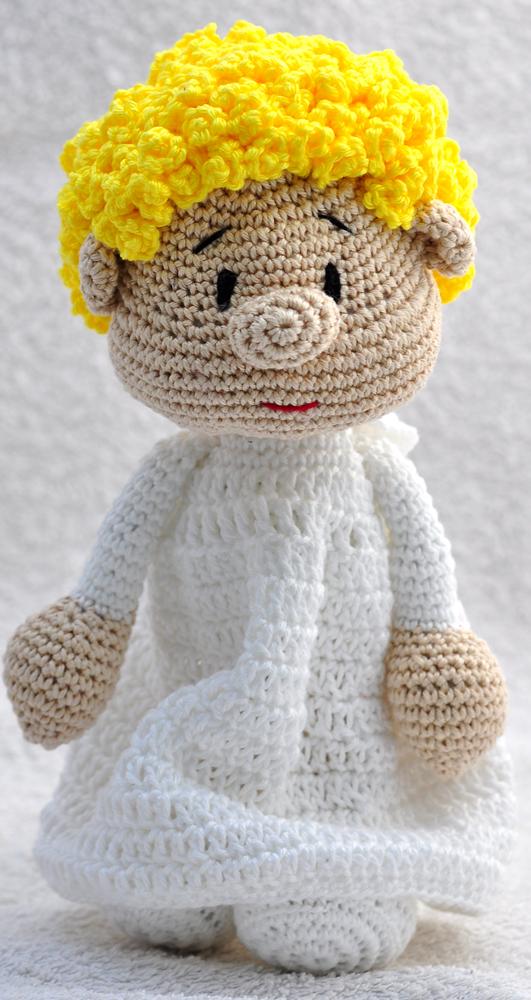 Crochet Amigurumi Doll Angel - Free Patterns - DIY 4 EVER | 1000x531