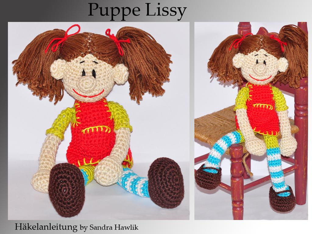 Kunterbunte Häkeltiere - - Häkelanleitung, DIY - Puppe Lissy - Ebook ...