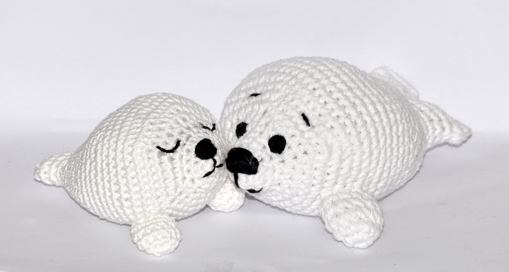 Sable the Seal | Amigurumi Crochet Pattern by PatchworkMoose ... | 536x1000