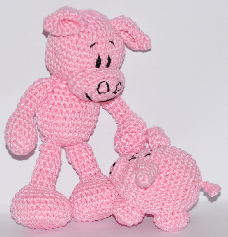 Amigurumi Little Piggy Free Pattern | 813x783