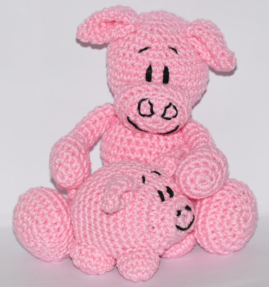 CROCHET PATTERN Amigurumi Pig Crochet Pig Pattern Pig   Etsy   1007x944