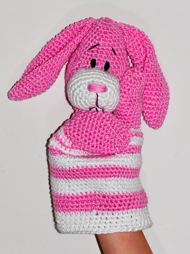 Pretty Bunny amigurumi in pink dress - Amigurumi Today | 1000x747