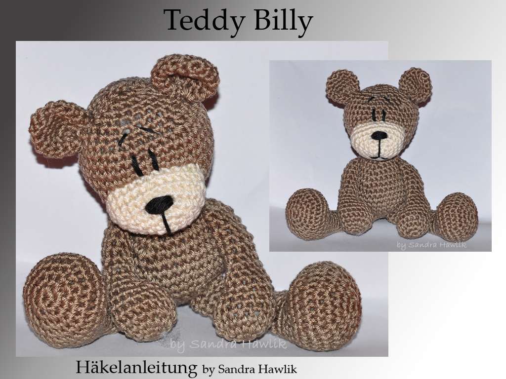 Kunterbunte Häkeltiere Häkelanleitung Diy Teddy Billy Ebook