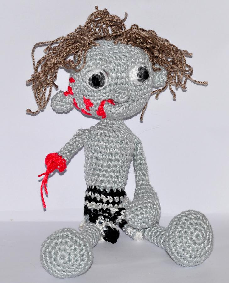 5.00 Zombie Amigurumi PDF Crochet Pattern by offthehookdesigns on ... | 900x728