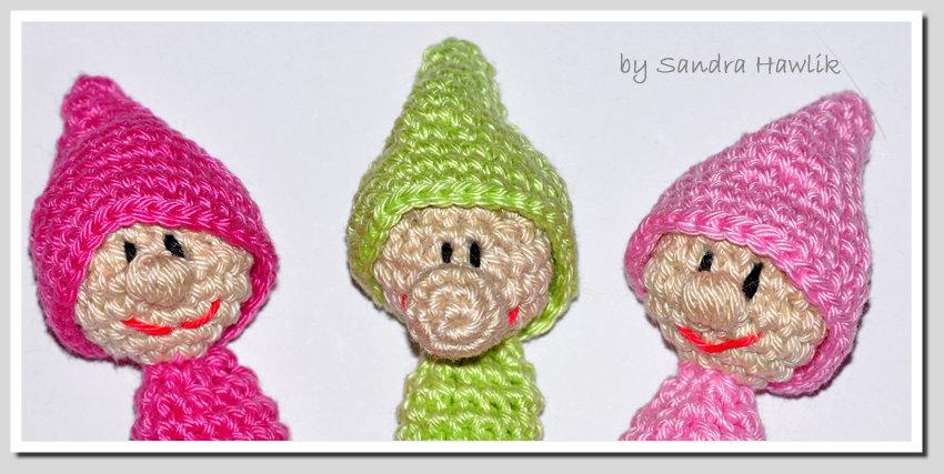FREE Finger Puppet Crochet Patterns | Finger puppet patterns ... | 850x427